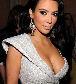 Kim Kardashian et ses bijoux