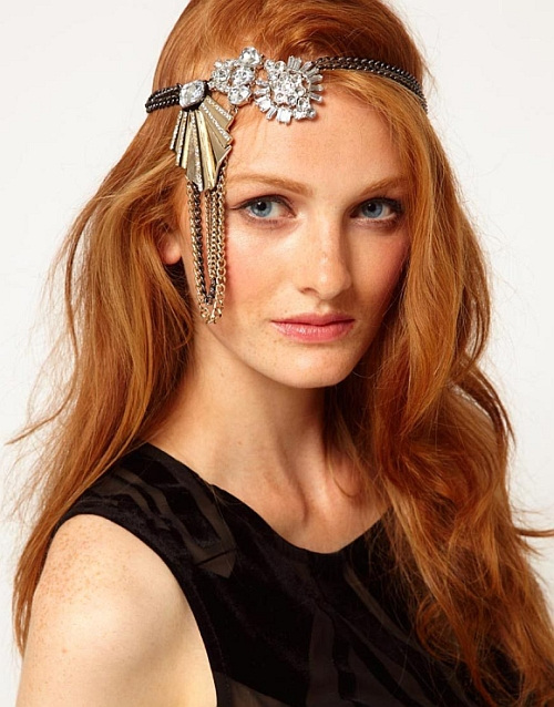 Headband strass