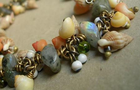 bracelet coquillage