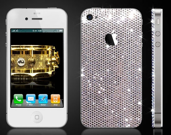 Coque iPhone Swarovski