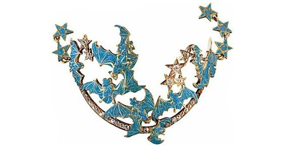 chaine cheville Lalique