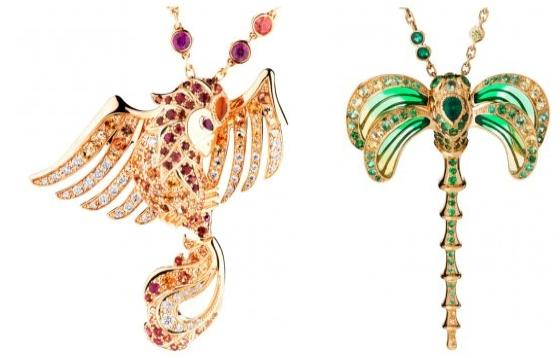 Pendentif joaillerie Lalique