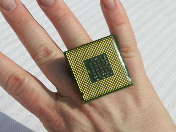 bague geek processeur