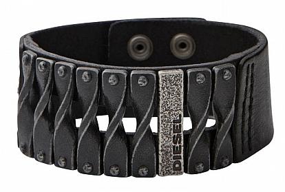 Bracelet cuir de la marque Diesel