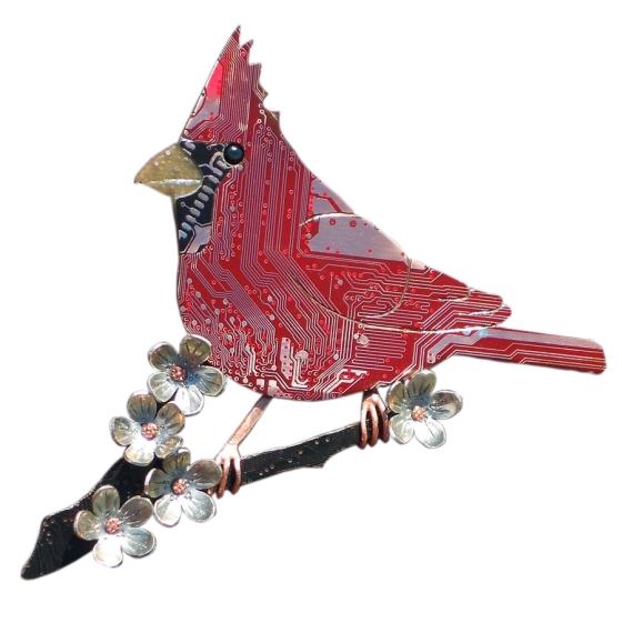 broche cardinal