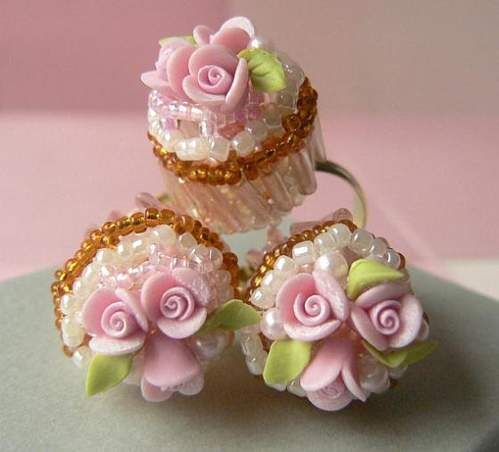 bagues cupcake
