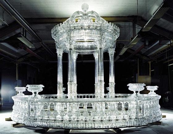 temple cristal Baccarat