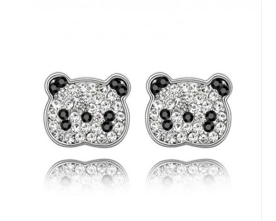 Trop mignonnes ces petites boucles d'oreille Panda