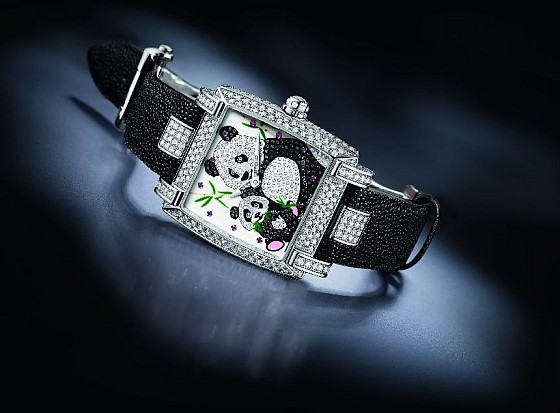Elle n'est pas jolie cette montre Panda ?