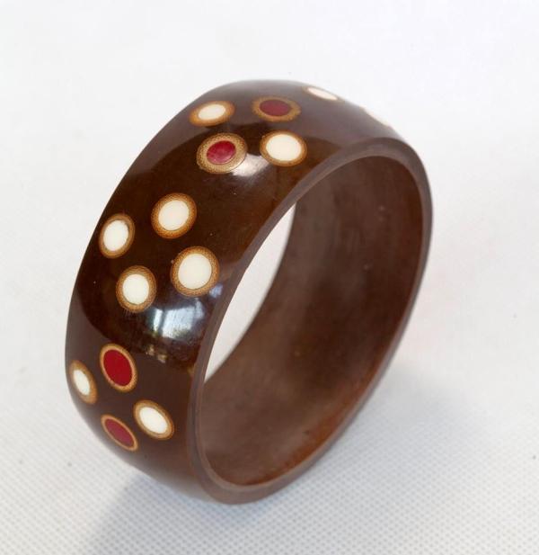 Un magnifique bracelet en provenance de Bali.