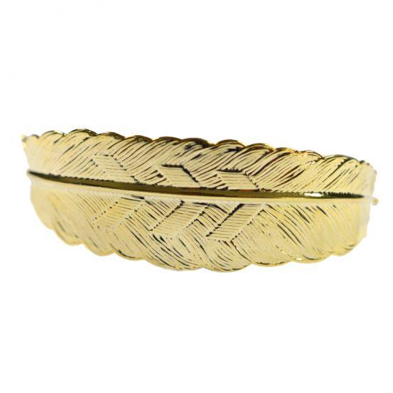 Magnifique bracelet plume