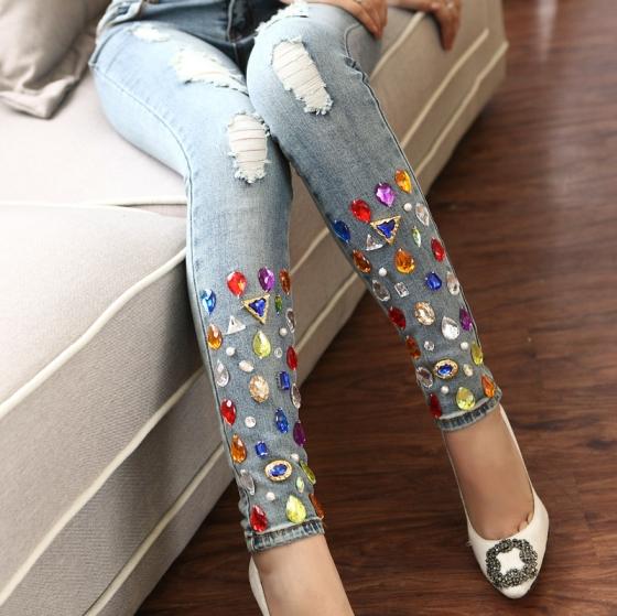Bling bling mon jean ?